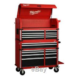 Milwaukee Tool Chest Cabinet Combo Garage Storage 18 Drawer 46 High Capacity