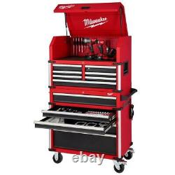 Milwaukee Tool Chest Combos 36 in. 12-Drawer Tool Chest and Cabinet