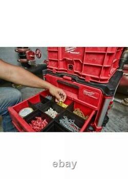 Milwaukee Tool PACKOUT 2-Drawer Tool Box