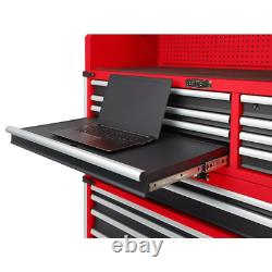Milwaukee Top Tool Chest 56 in. 8-Drawer 1400 lb. Capacity Ball Bearing Slides