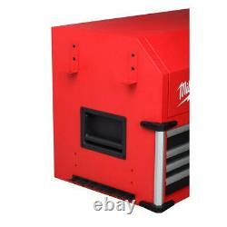 Milwaukee Top Tool Chest High Capacity 56 in. 8-Drawer Ball Bearing Slides