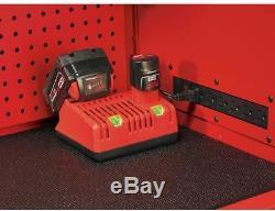Milwaukee Top Tool Chest Storage Box 46 in. 8-Drawer Ball Bearing Slides Steel