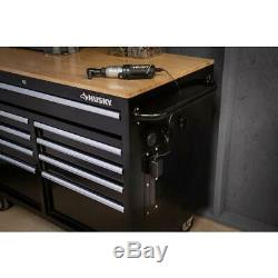 Mobile Workbench Hardwood Tool Chest Box Storage Cabinet 46 in. W 9-Drawer