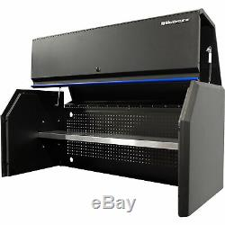 Montezuma 56inx24in Hutch 56Wx24 5/8Wx25H For Use withMontezuma Tool Cabinet