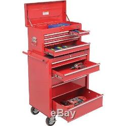 NEW! 27 5-Drawer Roller Tool Cabinet WithBall Bearing Slides & 27 Top Tool Chest