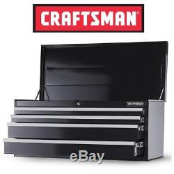 NEW Craftsman 42 in 4 Drawer Ball Bearing Slide Top Chest Tool Box Cabinet Black