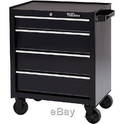 NEW Hyper Tough 4-Drawer Rolling Tool Cabinet with Ball-Bearing Slides 26W