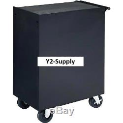 NEW! Industrial 27 7-Drawer Roller Tool Cabinet WithBall Bearing Slides Black