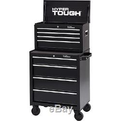 New 4 Storage Drawer Rolling Tool Cabinet Home Tools Chest W Ball Bearing Slides