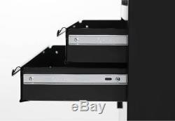 New! Hyper Tough 20 Rolling Tool Chest Ball Bearing 5 Drawer Slides Steel Black