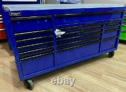 OPEN BOX DISCOUNTHomak BL04072164 RS Pro Series 16 Drawer toobox/workstation