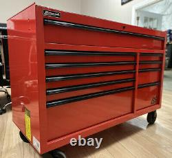 OPEN BOX DISCOUNTHomak RD04054010RS Pro Series 10 Drawer toobox/ROLLER CAB