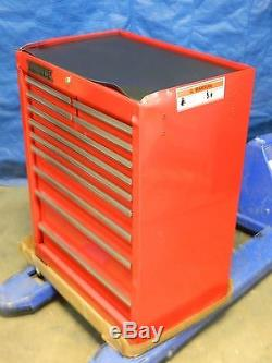 Proto 42 x 27 x 18 Tool Box Roller Cabinet 11-Drawer with Ball Bearing Slides