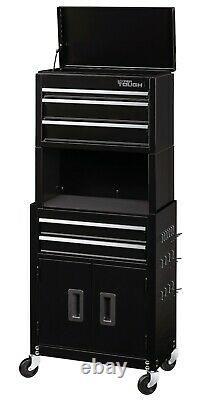 Rolling Tool Box Chest Storage Cabinet On Wheels 20 Mechanic Garage Steel Tough