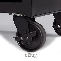 Rolling Tool Cabinet 4-Drawer Chest Ball-Bearing Slides 26W Repair Shop Garage