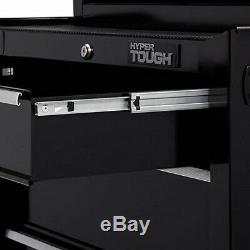 Rolling Tool Cabinet 4-Drawer Storage Box Organizer Ball-Bearing Slides 26 Inch