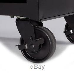 Rolling Tool Cabinet Hyper Tough 4-Drawer Ball-Bearing Slides 26W Steel NEW