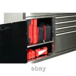 Rolling Tool Chest Mobile Work Bench Mobile Cabinet Husky Drawer Storage Garage