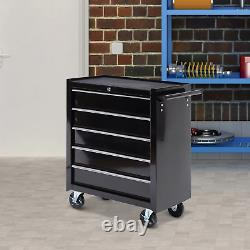 Rolling Tool Organizer Steel Cart Drawers Storage Chest Trolley Cabinet Garage