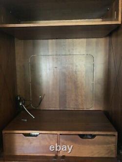 STICKLEY Cherry TV Armoire Cabinet