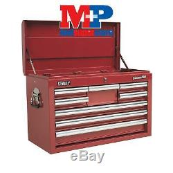Sealey AP33089 Topchest 8 Drawer with Ball Bearing Slides Red
