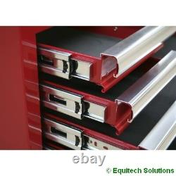 Sealey AP33339 Add On Step Up Toolbox Mid Chest Ball Bearing Runners Slides Red