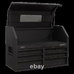 Sealey AP3607BE TopTool chest 6 Drawer 910mm Soft Close Drawers Power Strip