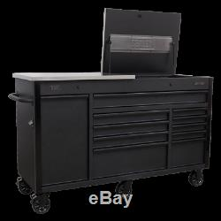 Sealey AP6310BE Mobile Tool Cabinet 1600mm Power Tool Charging Drawer