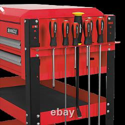 Sealey Mobile Tool Tools Parts Wheels Trolley Cart 2 Drawers Portable Red AP760M