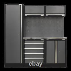 Sealey Modular Storage System Combo Stainless Steel Worktop Garage Workshop