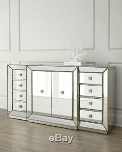 Shilo Two-Door Mirrored Sideboard/Buffet Horchow