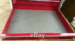 Snap On KRL 1251 PM Five Drawer Masters Series Top Chest Deep Cranberry Ex. Cond