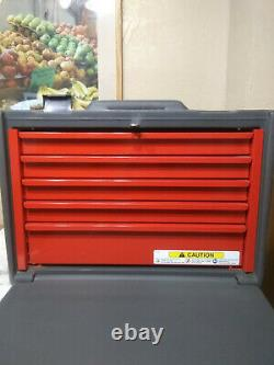 Snap On Portable Tool Chest, KRP825, 17.4H x 24W x 16-5/8D, 5 Drawer