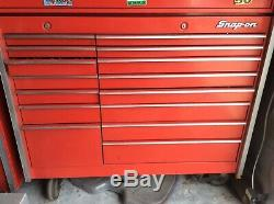 Snap on Snapon Snap-on KR1000 bottom cabinet tool box red. 1991 year