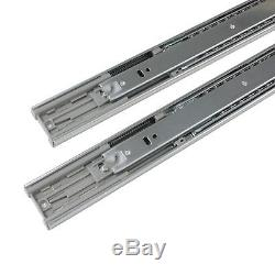 Soft Close Drawer Slides Side Mount Full Extension Ball Bearing Glide 12 22
