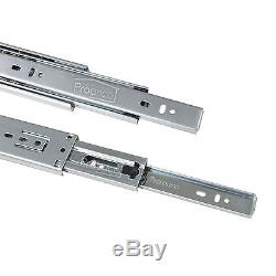 Soft Close Side/Bottom Mount Ball Bearing Drawer Slides/Glides/Guides Heavy Duty