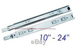 (Special Bundle) Full Extension 100-lb Ball Bearing Drawer Slides SL02