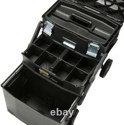 Stanley FATMAX 22 in. 4-in-1 Cantilever Tool Box Mobile Work Center Storage
