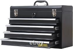 TANKSTORM Portable Steel Tool Chest with Drawers20.6 4-Drawer Box Storage Or