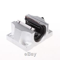 TBR30UU 30mm Linear Ball Bearing Support Slide Unit for CNC machine 8 pcs