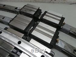 THK HCR45 4 Linear Rails 8 Ball Bearings/Slides 1480MM Long