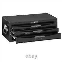 Teng Tools TC803NBK Black 3 Drawer Middle Box With Ball Bearing Slides