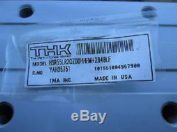Thk LM Guide / Linear Ball Bearing Slide, P/n Hsr55lrqzddhhfm+2940lf New