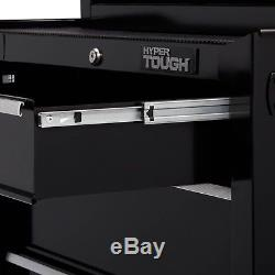 Tool Cabinet 4-Drawer Rolling Hyper Tough With Ball-Bearing Slides 26W New