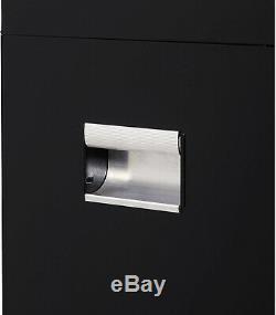Tool Chest 4-Drawer Hyper Tough Attachment Ball-Bearing Slides Lock Black 26W