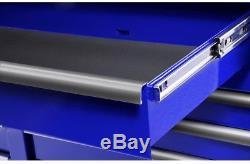 Tool Chest 54 Inch 7 Drawer Storage Box Toolbox Key Lock Ball Bearing Slides