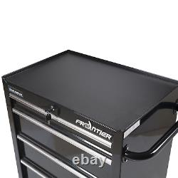 Tool Chest Lock Rolling 4 Drawer 46 Inch Mobile Organizer Cabinet Storage Box