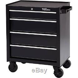 Tool Chest Rolling Tool Cabinet With Ball-Bearing Slides 4-Drawer 26 Inch Steel