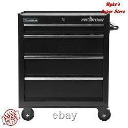 Tool Organizer Cabinet 26-inch 4 Drawer Bottom Chest Home Workshop Equipment