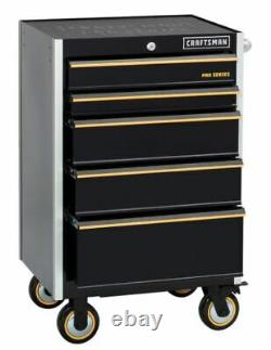 USA Craftsman Master Pro Series Rolling Tool Chest 26 Bluetooth USB Power 42 H